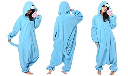 [Bonobono Kigurumi Fancy Dress Bonobono Anime Costume Pajamas] (Badtz Maru Costume)