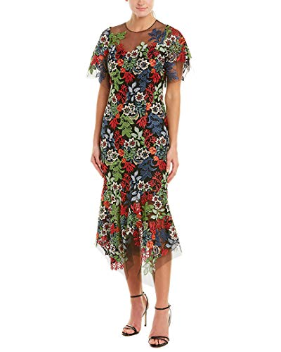 Teri Jon Womens by Rickie Freeman Midi Dress, 18, - Rickie Teri Freeman Jon For