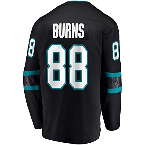 (Men's/Women's/Youth_Sharks_#88_Brent_Burns_Black Hockey Jersey)