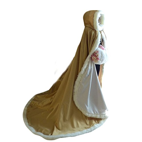 2017 Women's Fur Hooded Quinceanera Cape Cloak Prom Party Wrap Stole (Halloween Party Pics 2017)
