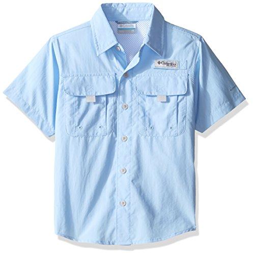 Columbia Boys Bahama Short Sleeve Shirt, X-Large, Sail