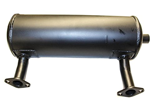 24 068 129-S Kohler Command Twin Muffler, fits 18-25hp Horizontal Shaft engines, exhausts out left side (replaces 24 068 (Kohler Exhaust)