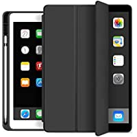 Smart Cover for Apple iPad 10.2 inch/iPad 7th 10.2 inch with Pen Holder
