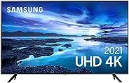 "Samsung Smart TV 50"" UHD 4K 50AU7700, Processador Crystal 4K, Tela sem limites, Visual Livre de Cabos, Al"