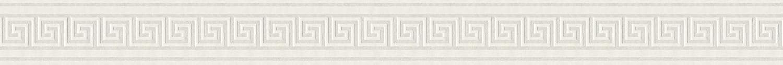 A.S Cr/éation Frise murale autocollant Stick Ups m/étallis/é blanc 5,00 m x 0,04 m 895912