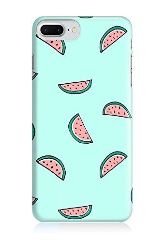 COVER Wassermelone Melone Obst Essen auf mint Handy Hülle Case 3D-Druck Top-Qualität kratzfest Apple iPhone 7 Plus