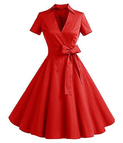 50s circle skirt dress - 3