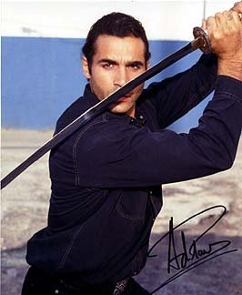 ADRIAN PAUL (Highlander) 8x10 Celebrity Photo Signed In-Person