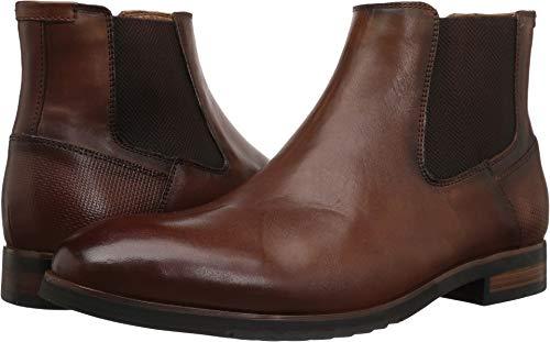 Pictures of Steve Madden Men's LESTON Chelsea Boot LEST02M1 Cognac Leather 10 M US 1