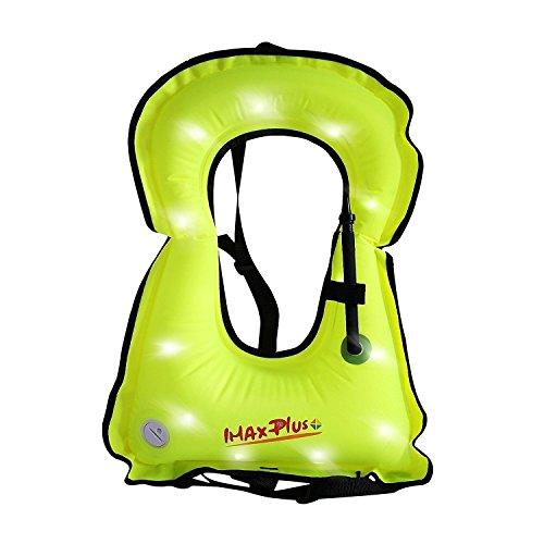IMAX Adult Inflatable Life Snorkeling Vest Jacket