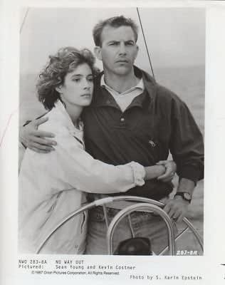 photo d244 sean young kevin costner no way out at amazon 39 s. Black Bedroom Furniture Sets. Home Design Ideas