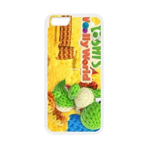 iPhone 6 Plus 5.5 Inch Cell Phone Case White Yoshi's Woolly World LSO7751142
