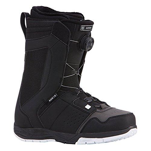 Ride Jackson Boa Coiler Snowboard Boots 2018 - 9.0/Black - Jackson Skate Boots