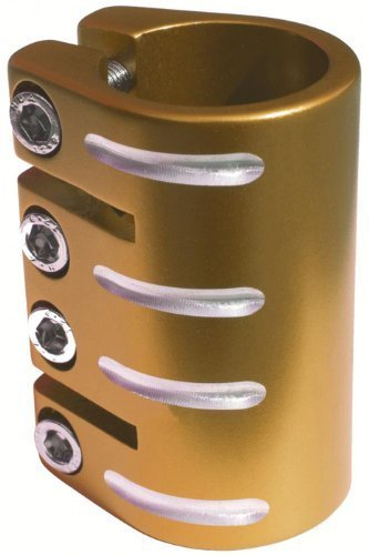 Blazer Quad - Abrazadera de patinete, color dorado: Amazon ...