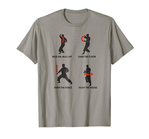 Early Lessons - The Karate Kid Early Miyagi Lessons T-shirt