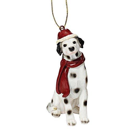 Dog Dalmatian Figurine (Christmas Ornaments - Xmas Dalmatian Holiday Dog Ornaments)