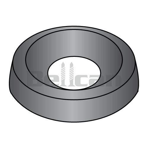 Countersunk Finishing Washer Black Zinc #10 BC-10WCBZ (Box of 8000) weight 10.4 Lbs