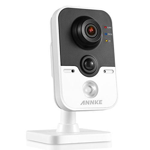 ANNKE 1080P IP Camera 2.0MP Wireless Cube Camera with Impressive PIR Detection, 1/2.8″ Progressive Scan CMOS, WPS network connection, Support Line Crossing