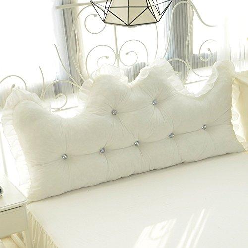 Cotton lace bedside / cotton alone / Korean Princess Feng Shui cotton back / ( Size : 15055cm ) by Cushion