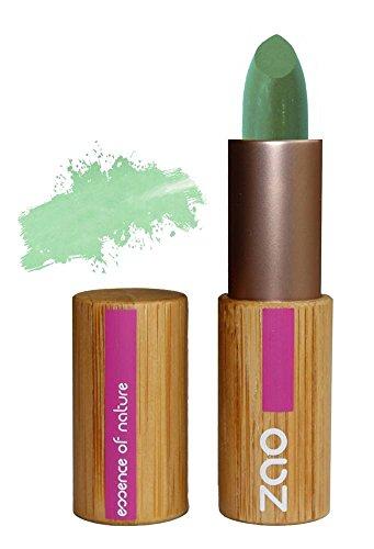 ZAO Concealer 499 grün Abdeckstift gegen Rötungen, Coverstick, Korrektor, in nachfüllbarer Bambus-Hülse (bio, Ecocert, Cosmebio, Naturkosmetik)