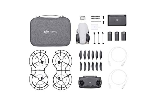 DJI Mavic Mini Combo – Drone FlyCam Quadcopter with 2.7K Camera 3-Axis Gimbal GPS 30min Flight Time