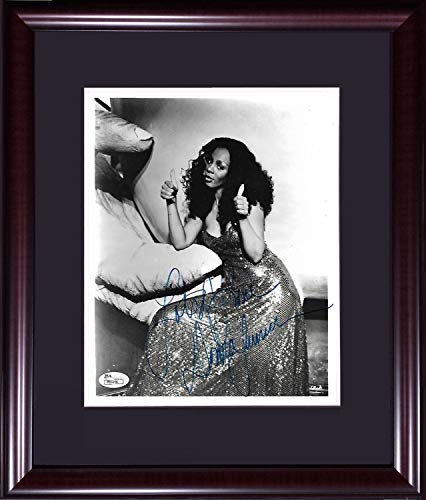 Donna Summer Autographed Signed 8x10 Photo Ins Lots Of Love Framed Disco Autograph - JSA -