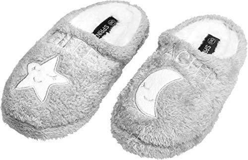 Gibra Grigio Pantofole Pantofole Chiaro Donna Donna Gibra xUqqwpd0v