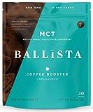 Cheap Ballista Coffee Booster and Keto Coffee Creamer – Enhanced MCT Oil Powder with Prebiotic Fiber – Sugar Free, Gluten Free, 0 Net Carbs – 30 Servings