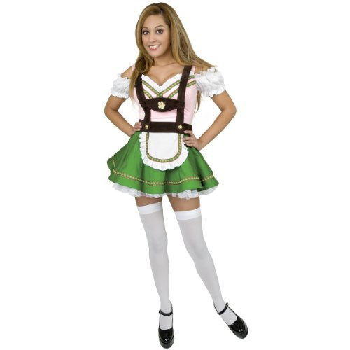 Gretchen Girl Adult Womens Plus Size Costumes (Gretchen Teen/Junior Costume - Teen Small)