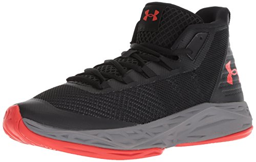 Under Armour Men's Jet Mid Basketball Shoe, Black (002)/Graphite, 11 (Best Under Armor Basketball Shoes)