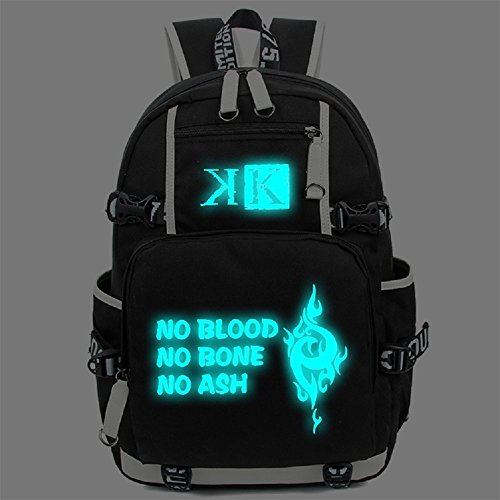 Siawasey Anime K Project Cosplay Luminous Bookbag Backpac...