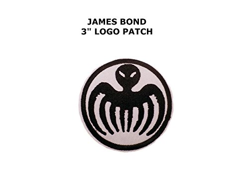 James Bond 007 Spectre Iron/Sew On Embroidered Patch By Superheroes (James Bond Girl Costumes Halloween)