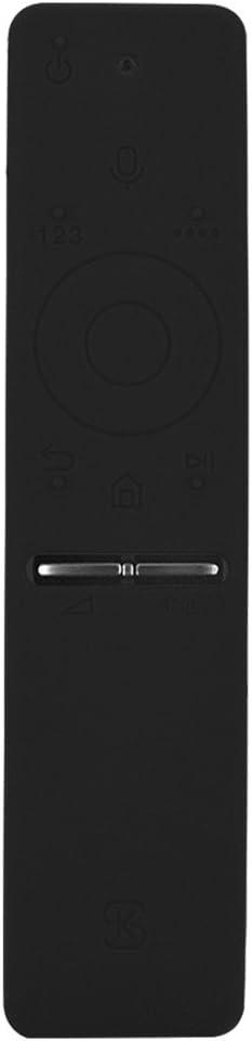 Richer-R Funda para Mando a Distancia Samsung TV,Protectora de Goma Suave para el TV Control Remoto de Samsung UA55KU6300J 6600J/6800/KS9800.(Negro): Amazon.es: Electrónica