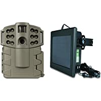 MOULTRIE Game Spy A-5 Gen2 Low Glow 5MP Trail Game Camera + Solar Power Panel