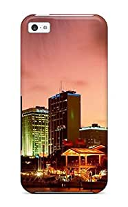 New Style SparksKaye Hard Case Cover For Iphone 5c- City Skyline