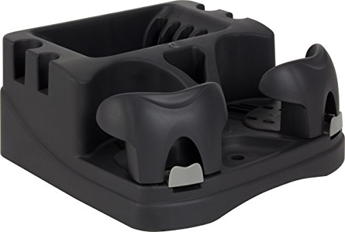 Truck Floor Console - Hopkins EMIC-BLA Go Gear Euro Mini Console, (Black)