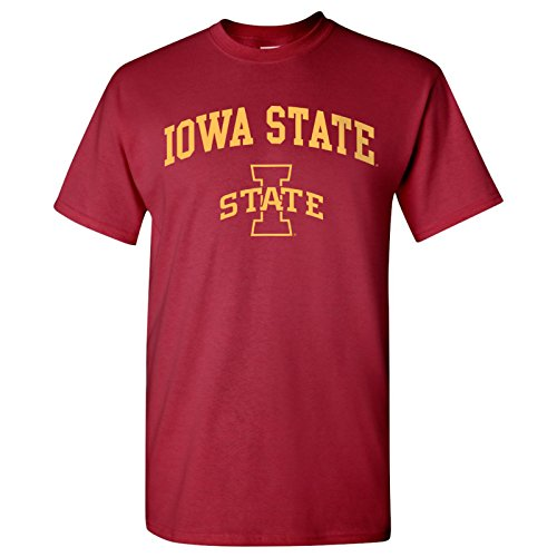 - Iowa State Cyclones Arch Logo T-Shirt - X-Large - Cardinal