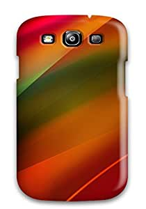 High Quality Paula S Roper Bright Reddish Paint Skin Case Cover Specially Designed For Galaxy - S3