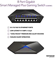 NETGEAR Nighthawk S8000 Gaming Streaming Advanced 8-Port Gigabit Ethernet Switch