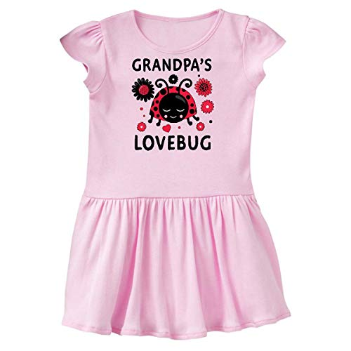 inktastic Valentine's Day Grandpa's Toddler Dress 5/6 Ballerina Pink 394ed