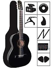 Guitarra Acústica Clásica VALDEZ Funda y Accesorios