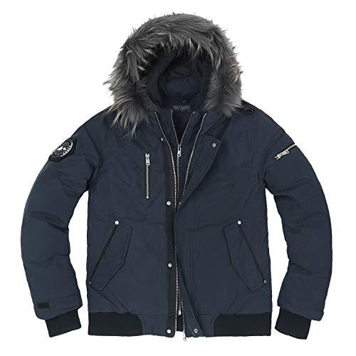 Per Invernale Gli Cappuccio Tutti Cappotto Usi Tempo Il Impermeabile Libero Imbottito Con gSqxBBwT17