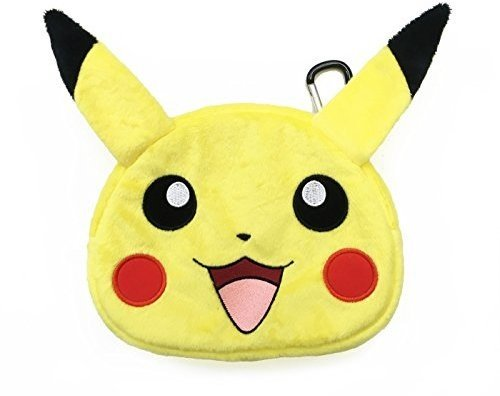 HORI Universal Pikachu Plush Pouch for New Nintendo 3DS XL by Hori