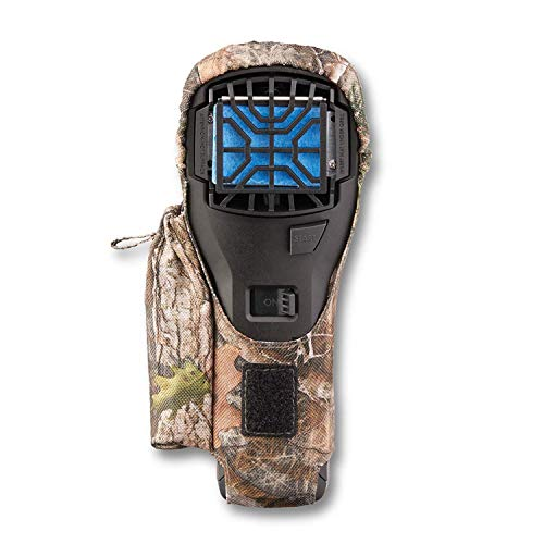 Thermacell MR300F Portable Mosquito Repeller (Black) with Camo Holster; Ultimate Mosquito Repellent System; Invisible, Effective Mosquito Defense; No Scent, DEET-Free, Won't Ruin Your Gear from Thermacell