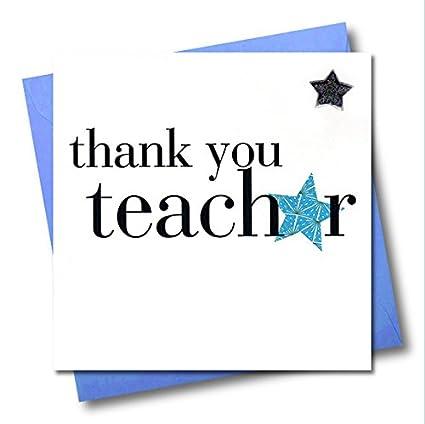 Claire Giles - Tarjeta de agradecimiento para profesor ...