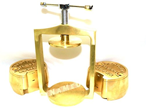 PREMIUM DENTAL LABORATORY LAB SPRING PRESS COMPRESS W/TWO BRASS DENTURE FLASK ( CYNAMED ) by CYNAMED (Image #4)