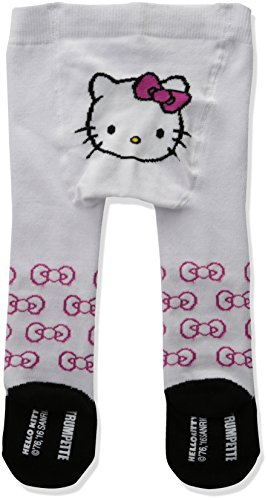 Trumpette Baby Girls' Tights, Hello Kitty Print, 6-12 Months