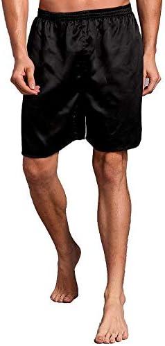 パジャマ CHJMJP ナイトウェアバスローブガウンパジャマ暖かい冬の男性のローブホーム服寝間着パジャマ大型 (Color : Shorts 2, Size : XXXL)