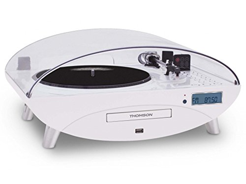 Thomson TT401CD- Tocadiscos, blanco