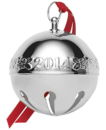 Wallace 2014 Silver-Plated Sleigh Bell 44th Edition Christmas (Wallace Sleigh Bell Christmas Ornament)